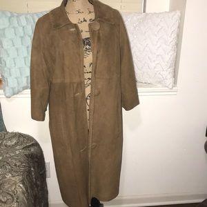 Norman Marcus Vintage Suede Coat